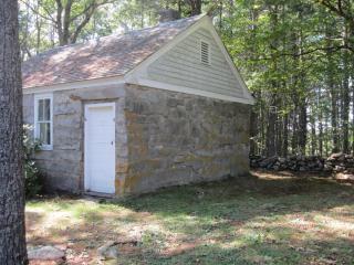 Rock Schoolhouse Outside
