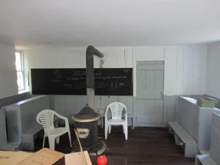 Rock Schoolhouse Inside